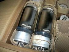 2x GM-70 / RCA 845 FOTON 1962 same codes Power Triode Tubes NOS