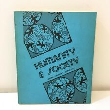 Humanity & Society Vol 1 No 1 Journal of the Association of Human Sociology 1977