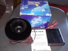 DEI 516p Universal Voice Module Viper Python Clifford Warning Siren BACK TALK
