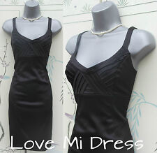 NEXT - 50's style Bodycon Pencil/Wiggle Cocktail Dress Sz 8 EU36 - LBD