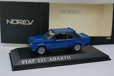Norev 1/43 - Fiat 131 Abarth Bleue