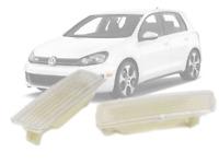 Clean Lens Front Bumper Side Marker Light For 09-14 VW MK6 Golf-Jetta Sportwagen