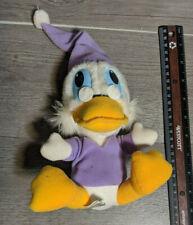 "1983 ""Mickey's Christmas Carol"" Scrooge McDuck Disney 8"" Plush Stuffed Toy"