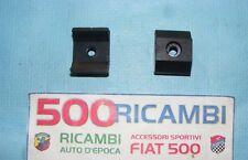 FIAT 500 F/L/R KIT 2 PEZZI GOMMINO PARACOLPO SOTTO SEDILE CON ANIMA IN FERRO NEW