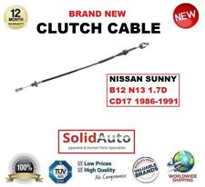 PARA NISSAN SUNNY B12 N13 1,7 D CD17 86-91 CABLE DE EMBRAGUE 3077065A00