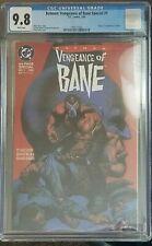 Batman: Vengeance of Bane Special #1 CGC 9.8 DC 1993 1st Bane! M6 191 clean