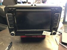 GENUINE VW GOLF CADDY TOURAN RNS510 SAT NAV RADIO UNIT TOUCHSCREEN CD 1T0035680A