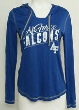 NEW Air Force Falcons AF Colosseum Blue Lightweight Hoodie Pullover Women's M
