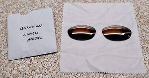 LINEGEAR Custom Lens for Oakley UNKNOWN - Liquid Metal