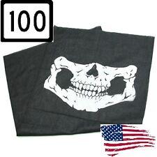 100 pcs Wholesale Call of Duty Ghost Balaclava Logan Skull Face Mask Hood Biker