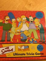 THE SIMPSONS ULTIMATE TRIVIA BOARD GAME TIN CARDINAL GSA