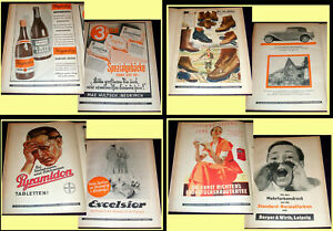 1933 Deutscher Drucker - 7 vintage magazines German Printer Ads Art & Printing