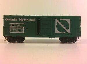 Vintage N SCALE KADEE 24100 Ontario Northland 40' Boxcar Opening Doors ON 92077