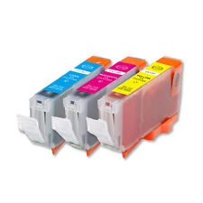 3 COLOR Ink Set + Chip for Canon Series CLI-8 MP600 MP800 MP830 iP6600D iP6700D