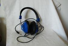 Vintage Califone (8) blue 2924AV Headphones & Model 1218 JackBox Set