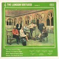 """THE LONDON VIRTUOSI... Volume 2  Bach / Telemann / Mozart 1972 Vinyl LP VG+/NM"