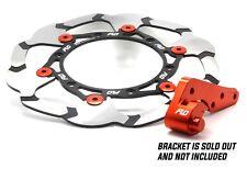 KTM / HUSQVARNA 270mm Front Brake Rotor Black / Orange by Flo Motorsports 270 mm