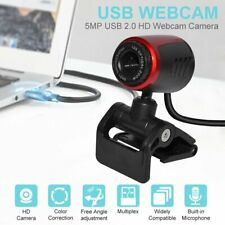 HD Webcam Web Video Camera USB 2.0 With Microphone For Computer Desk Laptop PC