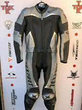 Texport podium Two Piece race Leathers with hump uk 42 euro 52