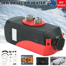 5KW 12V Air Diesel Heater Tank Vent Duct Thermostat Caravan Motorhome Pickup LCD