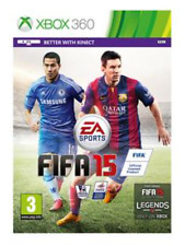 Xbox 360- FIFA 15 (2015) With Kinect Features **New & Sealed** Official UK Stock