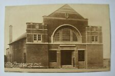More details for postcard thanksgiving hall leicester leicestershire london road unposted vintage