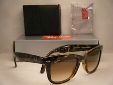 Ray Ban 4105 Folding Wayfarer Tortoise w Brown Gradient Lens (RB4105 710/51 50)
