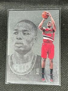 Damian Lillard 2012-13 Intrigue Rookie Card 🔥 RC #139 Portland Trailblazers