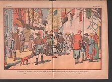 CHARITÉ SCOUT DE FRANCE DISTRIBUTION VETEMENTS LILLE CHOMEURS  ILLUSTRATION 1933