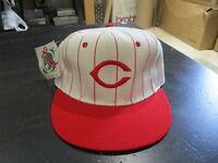 NEW VINTAGE New Era Cincinnati Reds Baseball Hat Cap Size 6 5/8 White Red MLB S