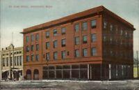 Vancouver WA St. Elmo Hotel c1910 Postcard