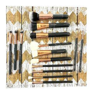 ZOEVA Rose Golden 15 Piece Vol. 1 Complete Brush Set NO Bag NEW