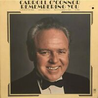 """CARROLL O'CONNOR Remembering You 12"""" LP ORIG 1972 A&M SP4340 Comedy PROMO EX/NM"""