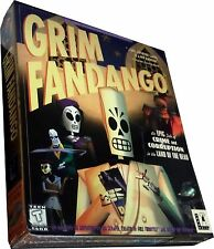 Grim Fandango - *RARE* Vintage (PC, 1998)  ...Large Box Collectible New! MISB!!