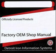 1967 Pontiac CD Parts Book Shop Manual Body GTO Firebird Bonneville Tempest Etc