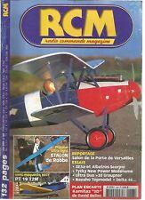 "RCM N°266 PLAN : KAMITAZ ""3D"" / SEMI-MAQUETTE ARTF PT 19 T2M / ETALON DE ROBBE"