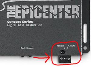 3 Pin Power Plug Epicenter AudioControl Performance Teknique Hitron Most Brands