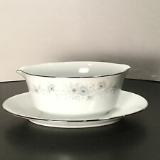Noritake China - Inverness - Gravy Boat w/ Attached Underplate - 209611 - Japan