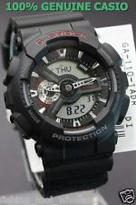 GA-110-1A Black Casio Watches G-Shock 200M Analog Digital X-Large Resin New