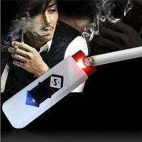 No Gas USB Electronic Rechargeable Battery Flameless Cigarette Cigar Lighter PRA