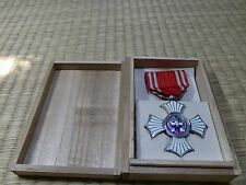 WWII Japanese Red Cross Silver Merit Medal army navy japan badge