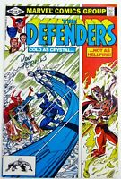 Marvel DEFENDERS (1982) #105 SIGNED by Don PERLIN FN/VF (7.0) Ships FREE!