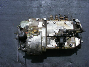 FORD 4D 4 CYLINDER SIMMS FUEL INJECTION PUMP
