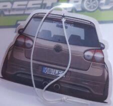 VW GOLF MK5 MKV GTI Air Freshener Black Ice Fragrance  Volkswagen RACING SPORT