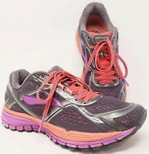 f53e7b44350 Brooks Womens sz 9 Ghost 8 Running Shoes Purple Anthracite Athletic Sneakers
