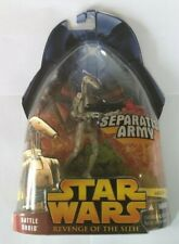 STAR WARS BATTLE DROID #17 REVENGE OF SITH ACTION FIGURE SEPARATIST ARMY NEW MIB
