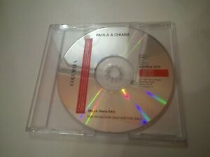PAOLA E CHIARA BELLA MEGA RARO CD SINGOLO PROMO COLUMBIA 1997 OTTIMO