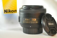 Nikon DX AF-S Nikkor 35mm f/1.8 G PRIME lens for D90 D7200 D7100 D3400 D80 D5600