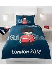 Orig.london Olimpici Giochi 2012 Lenzuola 135x200 Union Jack Queensguard Nuovo