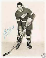 GORDIE HOWE DETROIT RED WINGS SIGNED AUTOGRAPH REPRINT PHOTO NHL HOF LEGEND HOWE